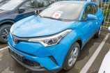Toyota C-HR. СИНИЙ, МЕТАЛЛИК (8X2)
