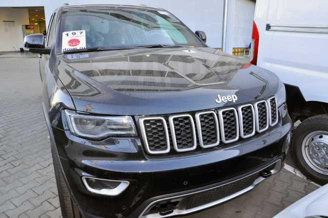 Jeep Grand Cherokee, 2018 год, 3 744 000 руб.