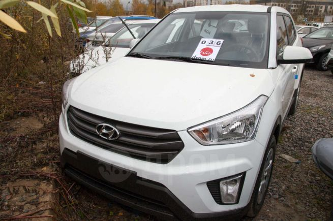 Hyundai Creta, 2018 год, 1 007 900 руб.
