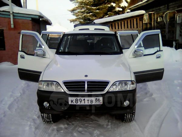 SsangYong Musso, 2004 год, 370 000 руб.