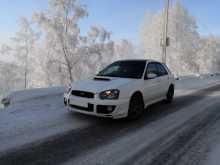 Иркутск Impreza WRX 2004