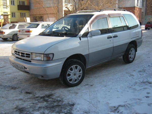 Nissan Prairie Joy, 1997 год, 170 000 руб.