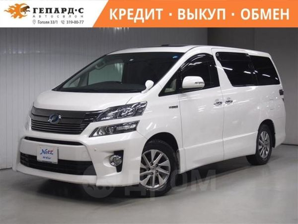 Toyota Vellfire, 2014 год, 1 760 000 руб.