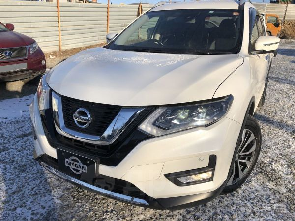 Nissan X-Trail, 2017 год, 1 480 000 руб.