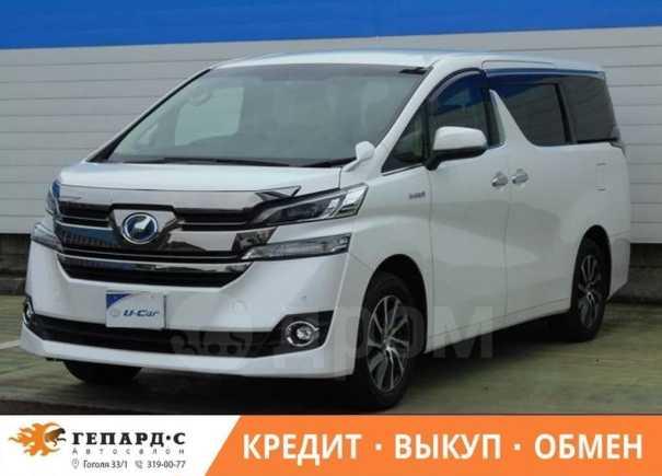 Toyota Vellfire, 2016 год, 2 150 000 руб.