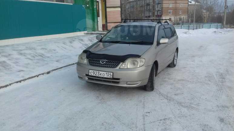Toyota Corolla Fielder, 2001 год, 325 000 руб.