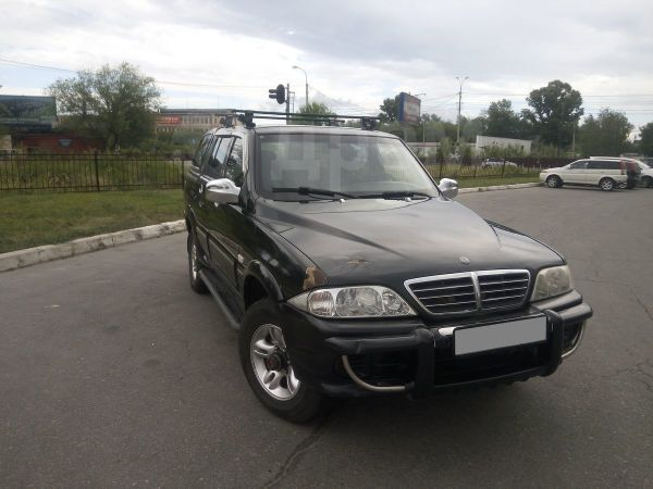 SsangYong Musso Sports, 2005 год, 260 000 руб.