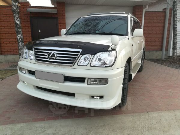 Toyota Land Cruiser Cygnus, 2002 год, 1 250 000 руб.