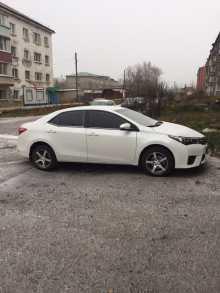 Тайшет Corolla 2014