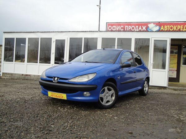 Peugeot 206, 2005 год, 200 000 руб.