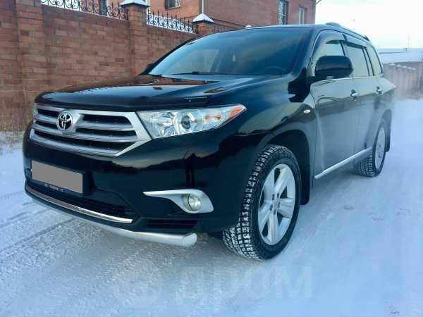 Toyota Highlander, 2013 год, 1 445 000 руб.