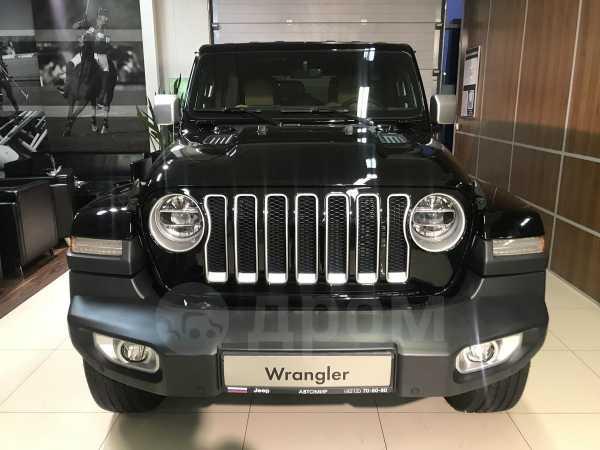 Jeep Wrangler, 2018 год, 4 590 000 руб.