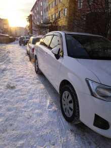 Магадан Corolla Axio 2012
