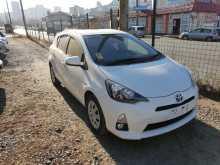 Владивосток Toyota Aqua 2014