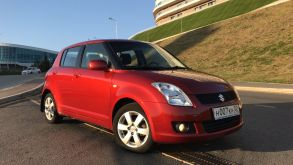 Уфа Suzuki Swift 2008