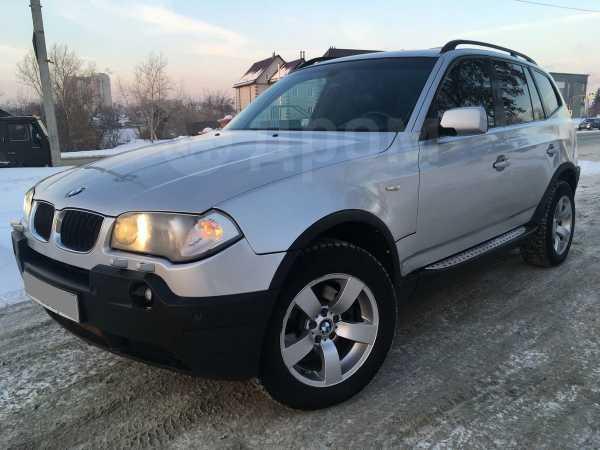 BMW X3, 2004 год, 477 000 руб.