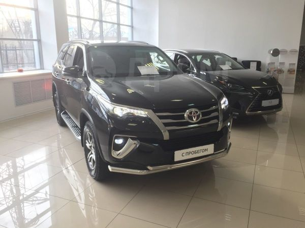 Toyota Fortuner, 2017 год, 2 720 000 руб.