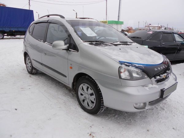 Chevrolet Rezzo, 2005 год, 217 000 руб.