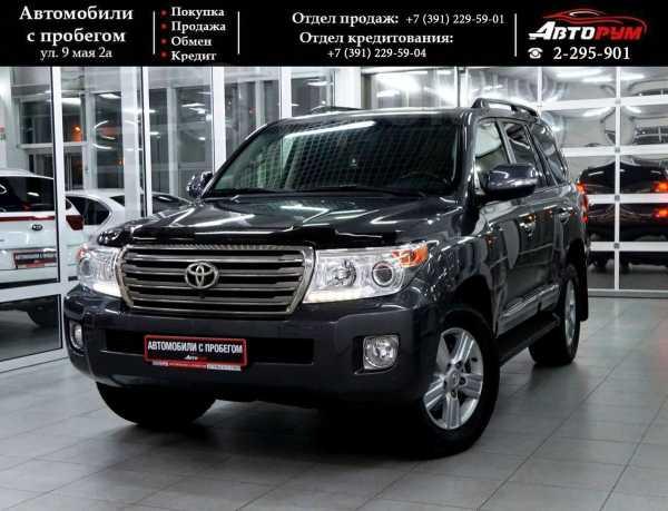 Toyota Land Cruiser, 2012 год, 2 397 000 руб.