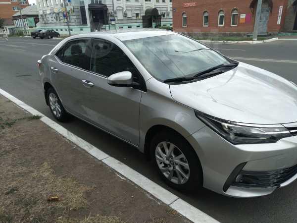 Toyota Corolla, 2017 год, 1 050 000 руб.
