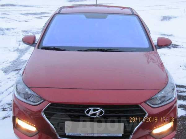Hyundai Solaris, 2018 год, 870 000 руб.