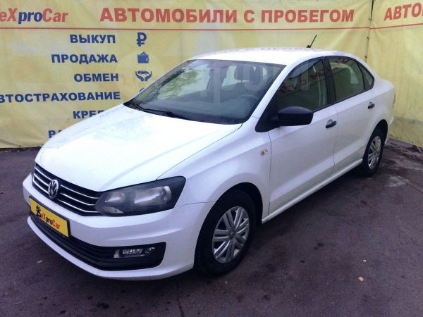 Volkswagen Polo, 2016 год, 509 900 руб.