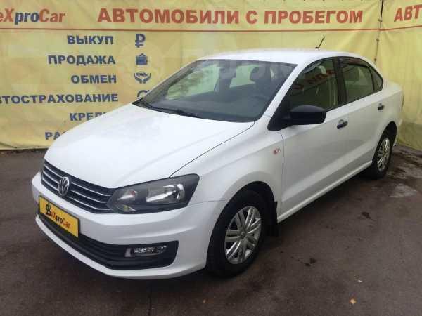 Volkswagen Polo, 2017 год, 579 999 руб.