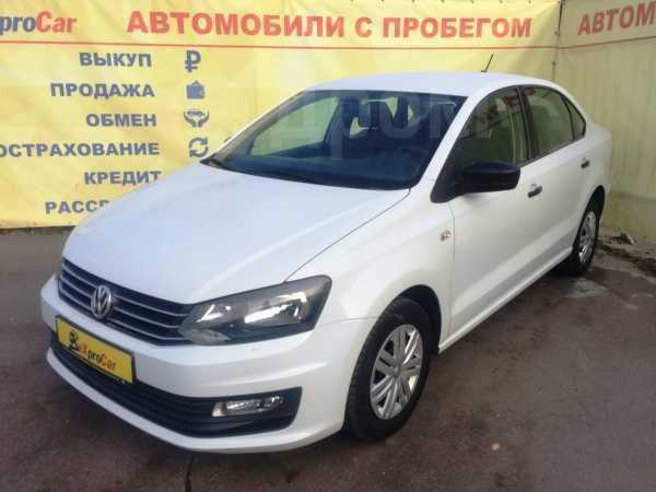 Volkswagen Polo, 2017 год, 539 900 руб.