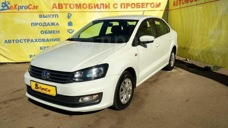 Volkswagen Polo, 2017 год, 599 898 руб.