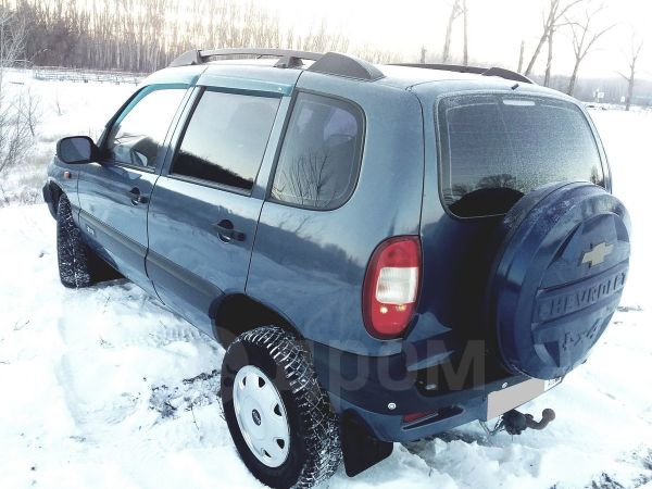 Chevrolet Niva, 2008 год, 199 000 руб.