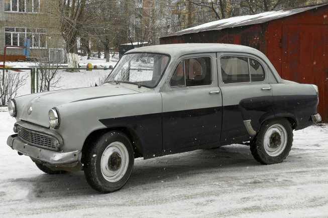 Москвич 407, 1961 год, 62 000 руб.