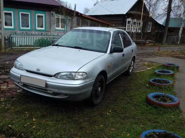 Hyundai Accent, 1996 год, 105 000 руб.