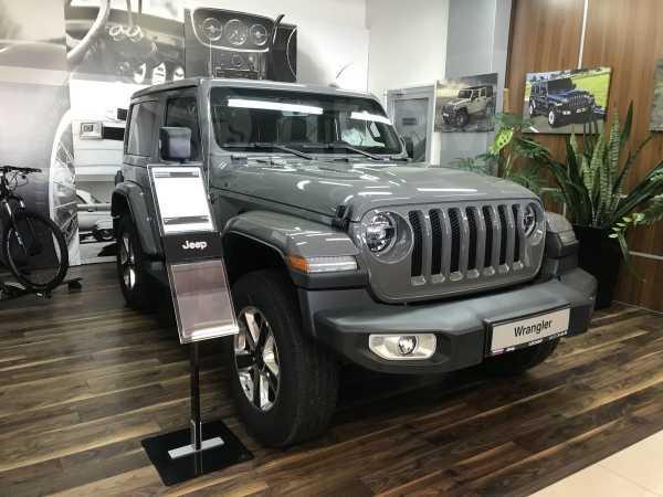 Jeep Wrangler, 2018 год, 4 280 000 руб.