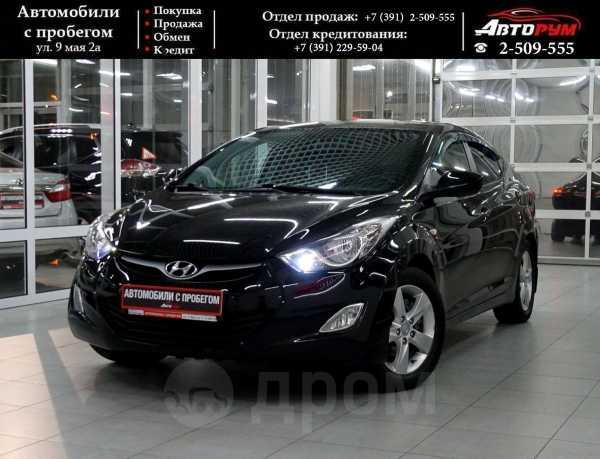 Hyundai Elantra, 2012 год, 557 000 руб.