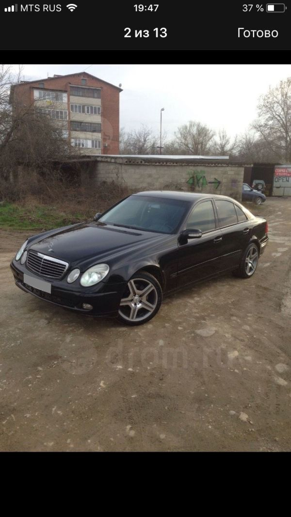 Mercedes-Benz E-Class, 2003 год, 320 000 руб.