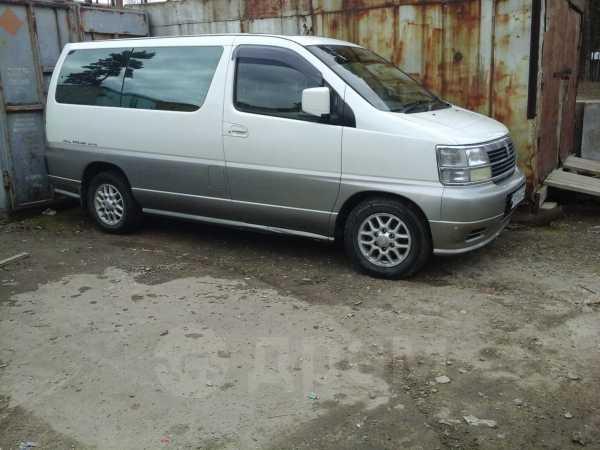 Nissan Homy Elgrand, 1999 год, 490 000 руб.