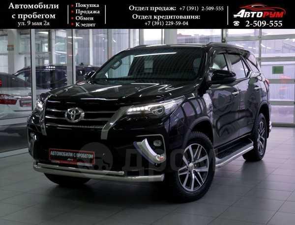 Toyota Fortuner, 2017 год, 2 647 000 руб.