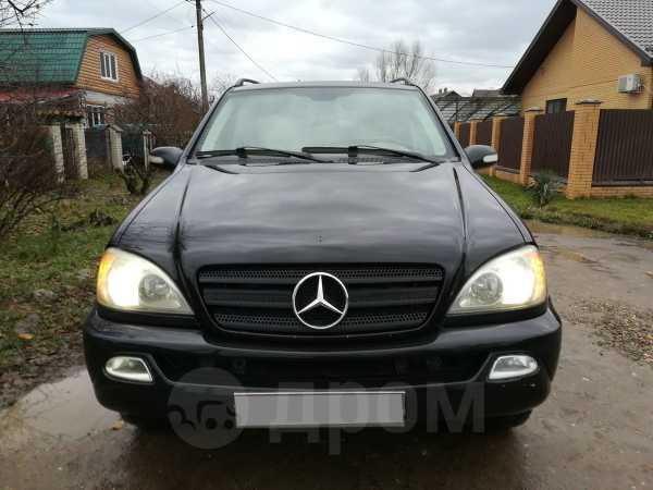 Mercedes-Benz M-Class, 2001 год, 299 000 руб.
