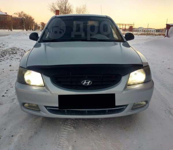 Hyundai Accent, 2007 год, 185 000 руб.