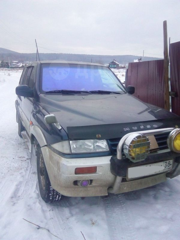 SsangYong Musso, 1996 год, 220 000 руб.