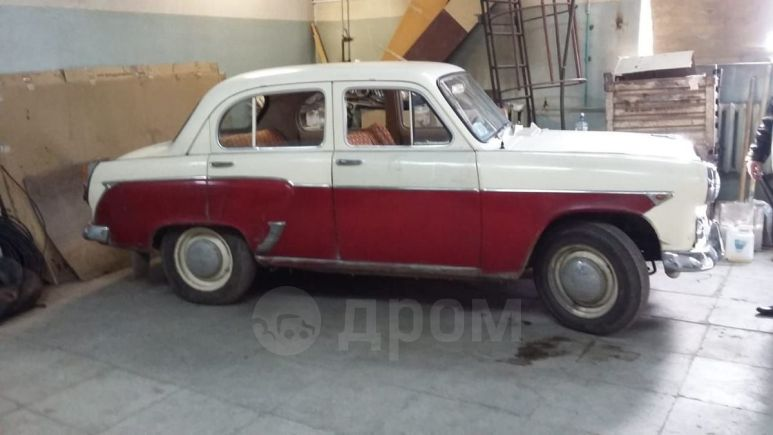 Москвич 407, 1961 год, 200 000 руб.