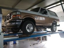 Находка Bronco 1991