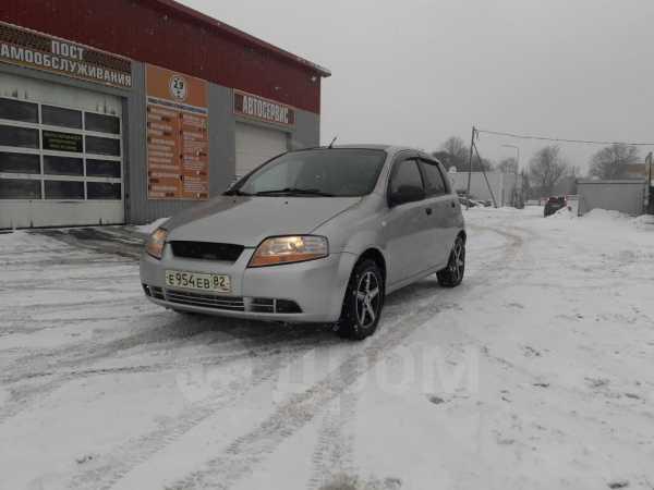 Chevrolet Aveo, 2007 год, 169 000 руб.