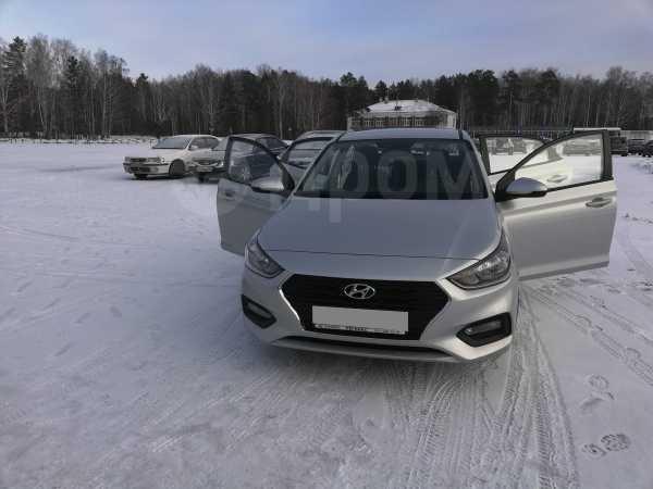 Hyundai Solaris, 2017 год, 800 000 руб.