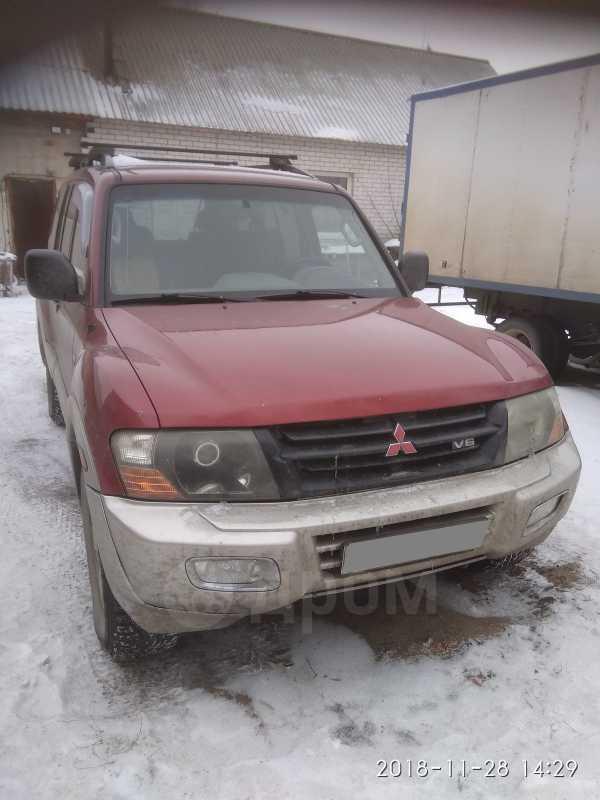 Mitsubishi Montero, 2001 год, 495 000 руб.