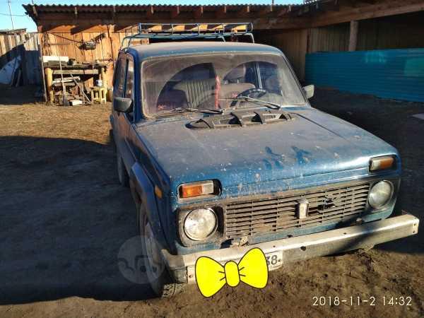 Лада 4x4 2121 Нива, 1992 год, 100 000 руб.