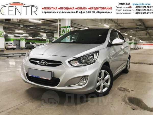 Hyundai Solaris, 2013 год, 495 000 руб.