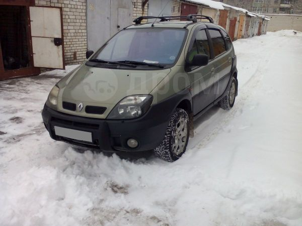 Renault Scenic, 2001 год, 277 000 руб.