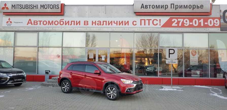 Mitsubishi ASX, 2018 год, 1 597 000 руб.