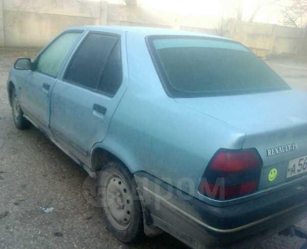 Renault 19, 1991 год, 85 000 руб.